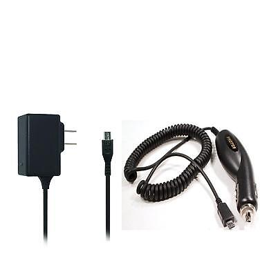 Car + Wall AC Home Charger for Samsung Galaxy Tab 3 7 SM-T210 T210R Tablet