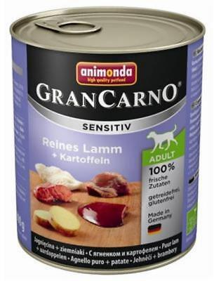 Animonda GranCarno Adult Sensitive Lamm + Kartoffeln 6 x 800g