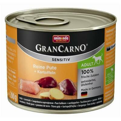 Animonda GranCarno Adult Sensitive Pute + Kartoffeln 6 x 200g
