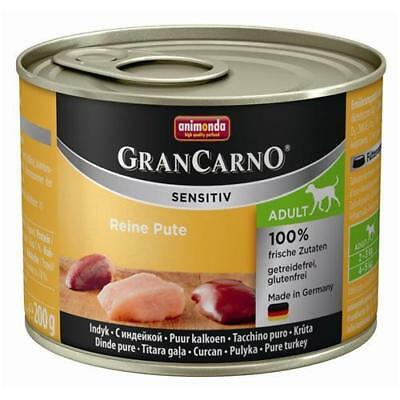 Animonda GranCarno Adult Sensitive Pute pur 6 x 200g
