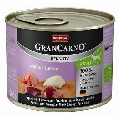 Animonda GranCarno Adult Sensitive Lamm pur 6 x 200g