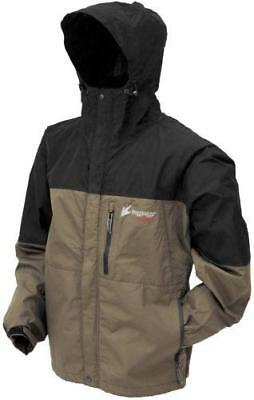 Frogg Toggs Toad Rage Jacket Stone/Black 2X-Large