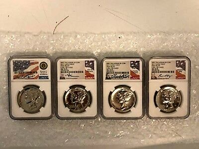 2017-P Palladium Eagle Ms70Pl (Mercanti, Vickers, Standish, Moy) Early Releases