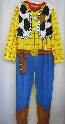 NEW Adult Unisex Toy Story Sheriff Woody Union Suit Costume Pajama Size M or L