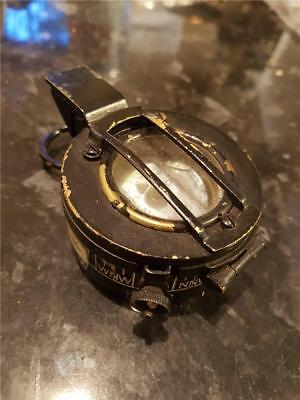 Vintage Brass MK.III Military Marching Compass by N.V.Ltd Observator 104D