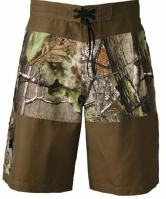 NEW Men's RealTree APG Bay Rapids Camo BoardShorts Surf Swim Water Trunks Shorts