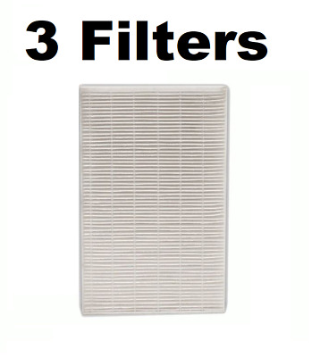 3 REPL Honeywell HPA-090, HPA-100, HPA200, HPA300 Air Filters for Part # HRF-R3