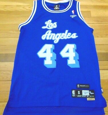 Vintage Reebok Nba Hwc Los Angeles Lakers Jerry West Swingman Jersey Size S 54ceae5bc