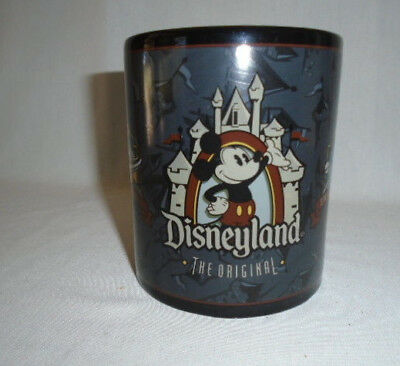 New The Original Disneyland Mug 16 oz Masculine Dad Space Mountain Matterhorn