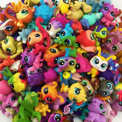 Random 10pcs Littlest Pet Shop Collection LPS Hasbto Figure Girl Baby Boy Toy