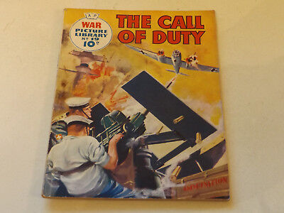 WAR PICTURE LIBRARY NO 19!,dated 1959!,GOOD for age,great 59!YEAR OLD issue,RARE