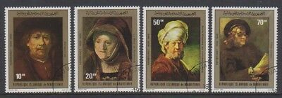 Mauritania - 1980, Paintings by Rembrandt - F/U - SG 663/6