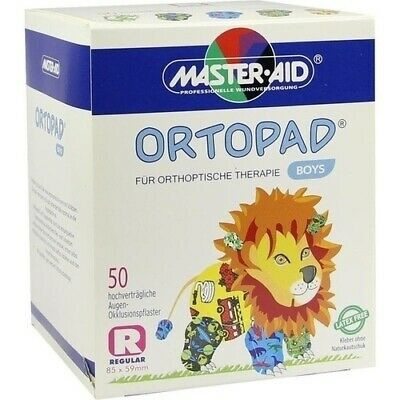ORTOPAD for boys regular Augenokklusionspflaster 50 St 02876995