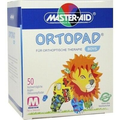 ORTOPAD for boys medium Augenokklusionspflaster 50 St 00215031