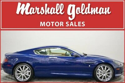 2009 Aston Martin DB9 Base Coupe 2-Door 2009 Aston Martin DB9 Monaco Blue over Cream Truffle leather Nav 13,700 miles