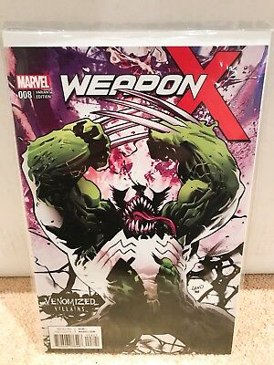 Weapon X #8 - Venomized Weapon H Variant - Marvel - NM