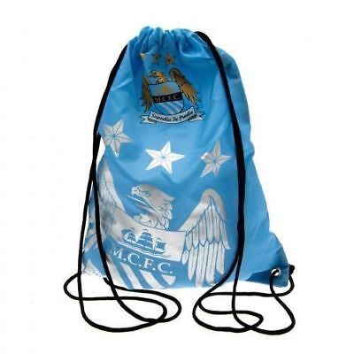 Official Licensed Manchester City Gym Bag School Sports Bnwt