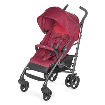 Chicco Liteway v3 Stroller (Red Berry) inc Footmuff & Raincover - OFFER was £130