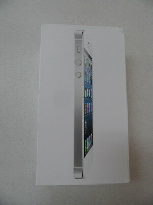 2012 APPLE iPHONE 5 White 32GB MD659LL/A Cell Phone Accy ** EMPTY BOX ONLY **