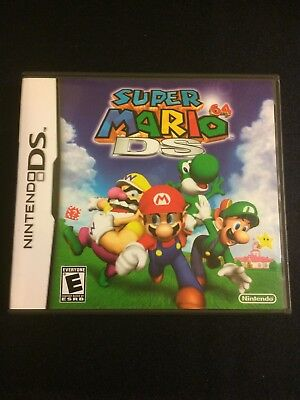 Replacement Case NO GAME Super Mario 64 DS for Nintendo DS