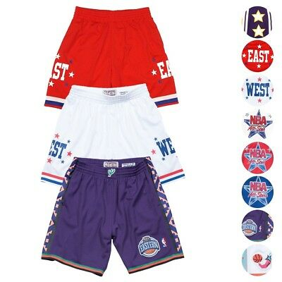 d3fc852f890 NBA 1972-2004 All Star East West Retro Swingman Shorts Men's by Mitchell &  Ness