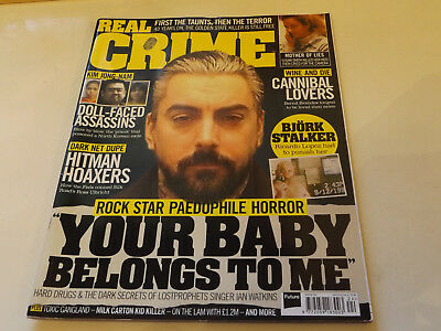 REAL CRIME MAGAZINE,NO 24,2017 ISSUE,VERY GOOD FOR AGE,01 yr old,VERY RARE.