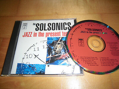 The Solsonics - Jazz In The Present Tence CD (1994)