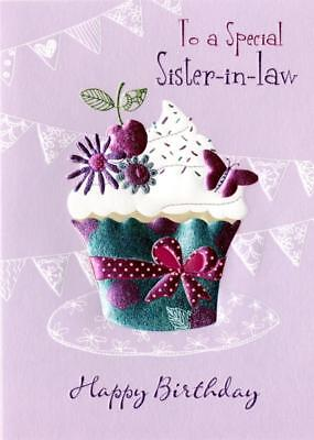 Special Sister In Law Birthday Greeting Card Second Nature Daydreams Cards