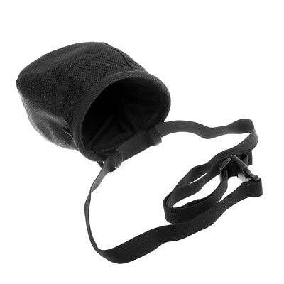 1pcs Outdoor Climbing Chalk Bag with Adjustable Belt For Rock Climbers Black