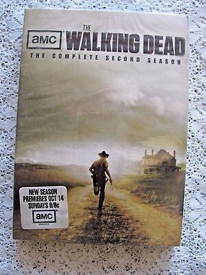 AMC Complete Second Season New Sealed The Walking Dead DVD Season Two