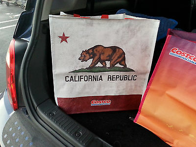 "Costco 16x16"" reusable grocery tote school shopping travel bag reuseable eco"