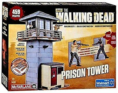 McFarlane Toys The Walking Dead Prison Tower Building Set  AMC TV Series ... New