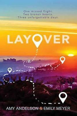 Layover by Amy Andelson Hardcover Book Free Shipping!
