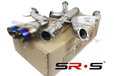 """Srs Type-R1 Catback Exhaust System For 2014 Ford Focus St 2.0L Turbo 3"""" Burn"""
