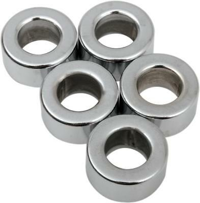 "DS Chrome Steel Spacer 5-Pack 3/8"" x 3/8"" Thick"