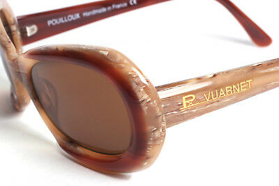 Vuarnet Tortoise Shell Women's Sunglasses with PX2000 Amber Brown Lenses VINTAGE