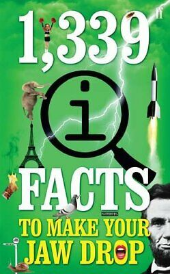1,339 QI Facts To Make Your Jaw Drop by Harkin, James Book The Cheap Fast Free