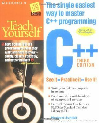 Teach Yourself C by Schildt, Herbert Paperback Book The Cheap Fast Free Post