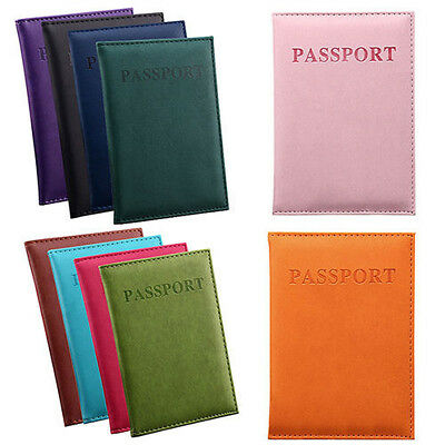 Dedicated Nice Travel Passport Case ID Card Cover Holder Protector Organizer