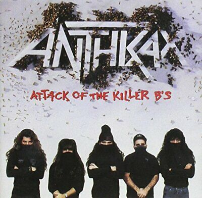 Anthrax - Attack of the Killer B S - Anthrax CD NCVG The Cheap Fast Free Post