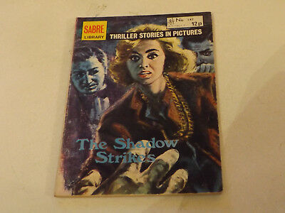 SABRE THRILLER PICTURE LIBRARY,NO 147,1978 ISSUE,GOOD FOR AGE,40 yrs old,V RARE.