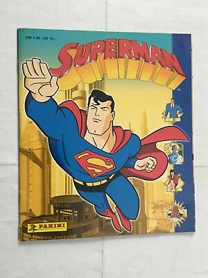 Superman  Sticker Album Completo In Tedesco Panini Dc