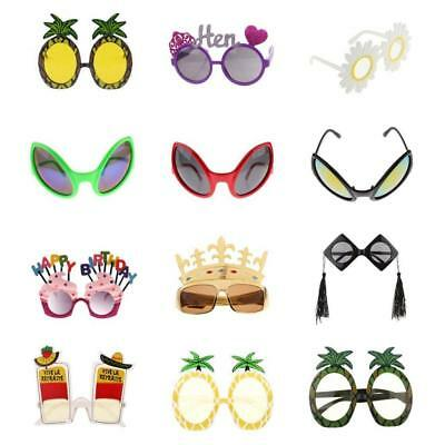 Assorted Novelty Sunglasses Funny Eye Glasses Hen Party Costume Fancy Dress