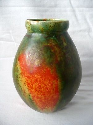 Chameleon Ware Vase by George Clews & Co. Ltd, c. 1920/30's. (a/f).