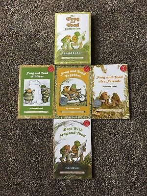 Lot Of 4 Complete Set of Frog & Toad books by Arnold Lobel