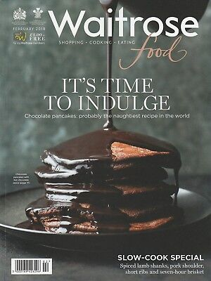 Waitrose Food Magazine - February 2018 - It's Time To Indulge