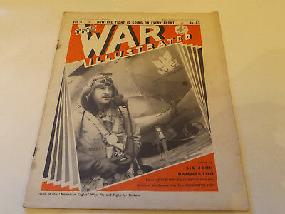 THE WAR ILLUSTRATED MAGAZINE,1941 ISSUE,GOOD FOR AGE,77 YEARS old,WW2 WEEKLY.