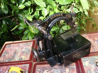 Antique Old Vintage   Chain  Sewing Machine Model 94-2 For Spare  Or Repair