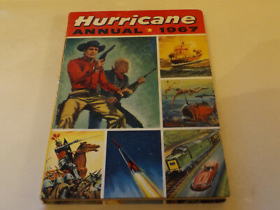 Hurricane Annual,1967 Edition!,very Good,great Hardback Book,top 1960`s Yearly.