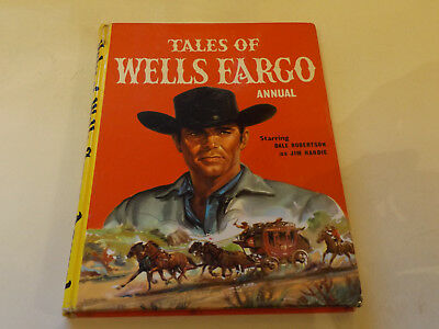 Wells Fargo Annual,1961 Edition!,very Good,great Hardback Book,top 1960`s Yearly